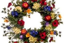 Wreaths And Such / For your door or wall. Even a garden gate.