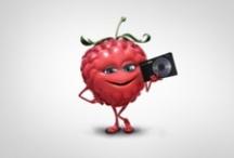 Be Fruit, l'appli ! / Les meilleures photos de vous avec les fruits Oasis. Prenez la vie par le bambou et dites Fruiiiiiit!