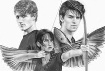 The Hunger Games! / The Hunger Games is AMAZING! I love it and the story sooooo much and Josh Hutcherson and Jennifer Lawrence are basically my favourite actors ever! / by Megan Threatte
