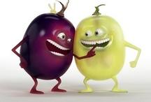 Les Fruits / Ils sont beaux, ils sont frais, ils sont mûrs… Ils se mettent à nu pour vous.