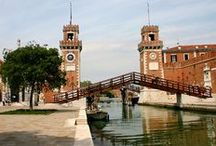 """Arsenale / The Venetian Arsenal was a complex of state-owned shipyards and armories clustered together in Venice. It was responsible for the bulk of Venice's naval power during the middle part of the second millennium AD. It was """"one of the earliest large-scale industrial enterprises in history""""."""