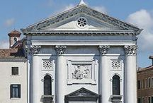 Chiesa della Pietà / The church of Santa Maria della Pietà or della Visitazione is a prominent church in the sestiere of Castello in Venice, Italy. It is sited with its facade on the Riva degli Schiavoni, a short promenade from the Doge's Palace. Historically, it is remembered as the church associated with Vivaldi and his young female musicians.