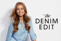 The Denim Edit / Forever New Denim Jeans / by Forever New