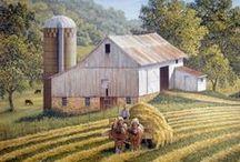 Barns / by Joy Lay