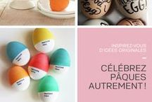 Célébrez Pâques autrement ! / Beez Créativité Média vous partage plusieurs idées créatives pour rendre la fête de Pâques encore plus agréable !