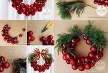 Věnce a Vánoce - xmas DIY