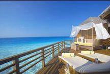 Maldivler de Su Üzeri Villalar / Maldives Best Overwater Villas / Sizin tüm isteklerinizi karşılayabilecek keyifli ve farklı seçenekleriyle Maldivler'in su üzeri villaları...