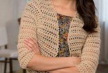 Háčkování - svetry, vesty