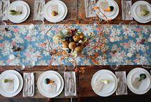 La table...