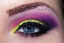 My Make-up / I love my work ! :)