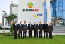Ziyaretler / Bursagaz'ı ziyaret eden önemli şahıslar. / by BURSAGAZ