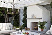 Outdoors Rooms / Outdoor spaces, decks, plants