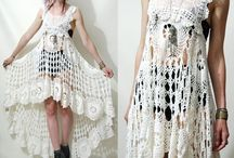 CROCHETED DRESSES & TUNICS / A bounty of beauty / by Nancey Mitchell