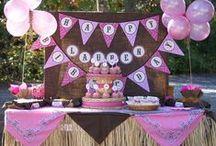 Abby Birthday party ideas / by Susan Grambau