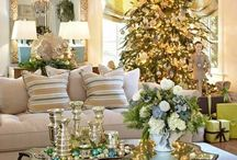 Traditional Christmas / The holiday season is about creating warmth in your home and getting it ready to have friends and family together.  It is so exciting!