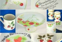 STRAWBERRY KITCHEN......#1 / My kitchen has the strawberry theme. I 'stole' the idea from my friend Cheryl.  / by Ms. Dean