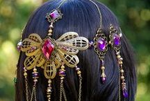 Hair / #hairstyle #hair #accessories #howto #haircare