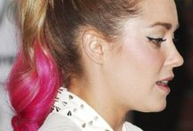 Celebrity Hair Chalk Styles and Ideas