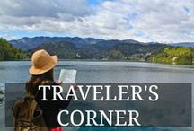 Traveler's Corner / This is YOUR Corner. Ask for Invitation and Share your Best Travel Articles With Us - by GloHoliday.com (Please do NOT SPAM the board and pin each photo only once)