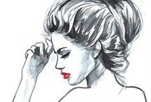 Fashion Illustration, Drawing & Sketches / by Virginia Sorensen