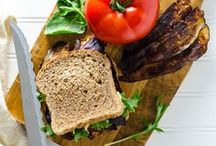 Veggie Burgers, Sandwiches and Wraps / Plant-based burger, sandwich and wrap recipes.
