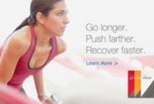 Health and fitness / Go longer. Push farther. Recover faster.
