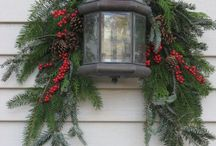 Christmas Door Decor / Christmas door/ entrance/ porch ideas