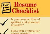 Resume Tips / by Sage Office of Career Planning