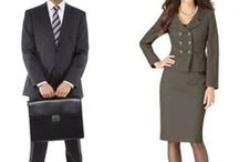 Interview Outfits and Business Professional in the Workplace / Outfits appropriate for daily wear in a business-professional environment, as well as to an interview.  / by Sage Office of Career Planning