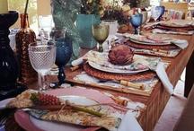 Mesas e decorações / Encontre na D.Filipa as peças ideais para o seu evento.