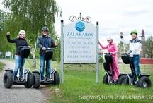 Segway túrázás / A segway remek szórakozási és csapatépítés lehetőség,  http://segwaytura.zalakaros.co