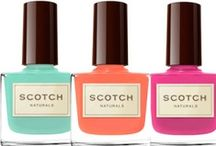 Non Toxic Nail Polish / A spotlight on our favorite water based polish Scotch Naturals and toxic free fashionable nails.