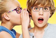 o!o / Designed to help kids scoot, build, read & make believe!  Adventurous kids who want to express their individuality in their optical frames.