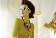 Trends- New Vintage Glam / An iconic trend exemplified by the lady like features of feline eyewear and starstruck glamour.