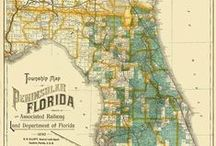 Vintage Maps / by A Place Called Polk Blog