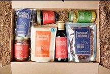 Artisan Food! / We've partnered with local farms and businesses across Michigan to bring you some of the best artisan foods from our great state. Now available individually or in custom-packaged gift boxes. Eat (and share) with pride!