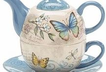 Porcelanas pintadas à mão! / Hand made