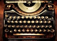 Typewriters / No matter how old...  still can create magic.