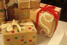 Gift wrapping / Lahjojen paketointi