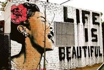 Murals and Street Art / by Liz Kay