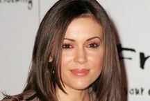 Unknown female - Alyssa Milano