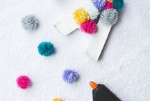 PomPom Projects / Many of us love a pom pom and we are no exception... discover how to incorporate them into some amazing pom pom sewing project ideas too!