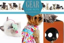 Gear for Pets / #GearforPets - your online pet boutique for dog and cat gear!  We love our furry friends