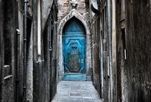 Door Photography / I just love old doors ... The colours, the textures, just beautiful