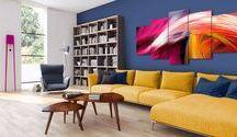 Abstrakcje / Abstrakcyjne obrazy i fototapety to design sam w sobie. Sprawdzają się niemal każdym typie pomieszczeń i są idealnym wykończeniem mieszkania w każdym stylu. Nic dziwnego, że nigdy nie wychodzą z mody!