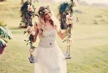 Boho wedding, rustic wedding