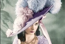 Victorian Hats / I love the hats from 1900 they are realy art.
