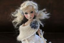 Art Dolls / For the little girl in me who still loves dolls. / by Marisol N.