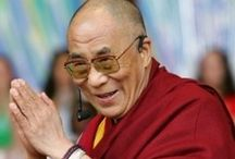 H.H The Dalai Lama / I have met H.H ones a verry little man but with a great energie and personality when every uman takes just a little from his words whe have a much bether world full of love. Ones i hope that his words will come in the people so there there will be more peace.