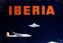 Carteles históricos / La historia de Iberia a través de nuestros carteles / by Iberia Líneas Aéreas